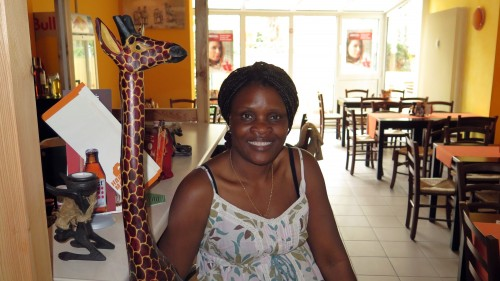 Maureen Schubert hat das Hakuna Matata auf der Jordanstraße eröffnet