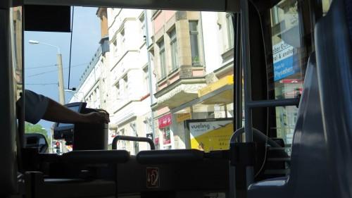 Für S-Bahnfahrer ungewohnte Aussichten.