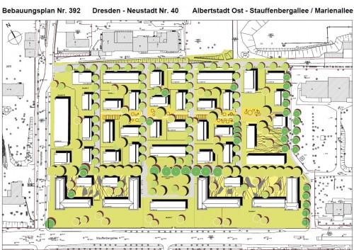 Bebauungsplan für das Gelände nördlich der Stauffenbergallee