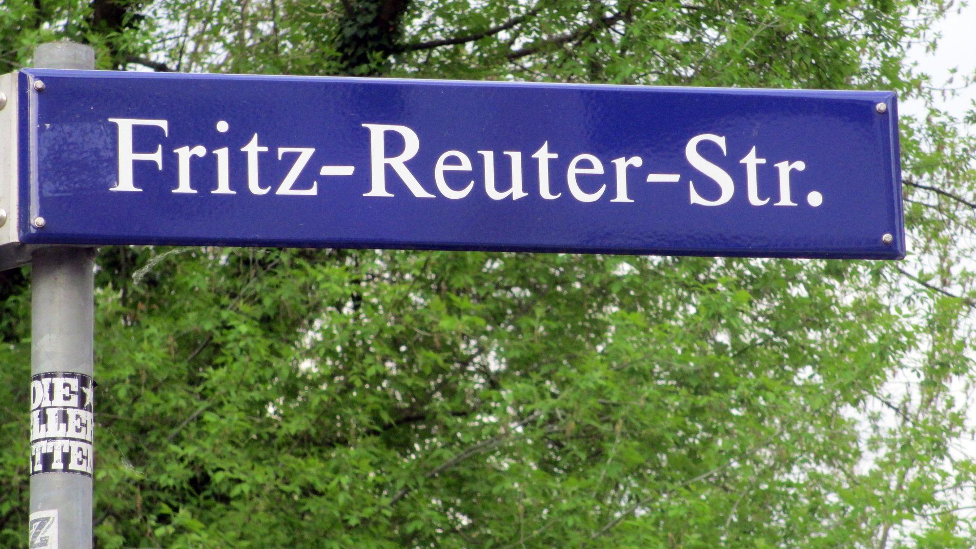 Die Fritz-Reuter-Straße