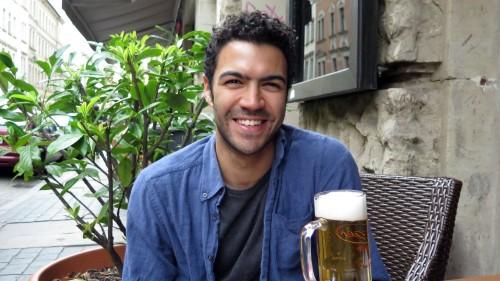 Joseph Hernandez in seiner gemütlichen Neustadt.