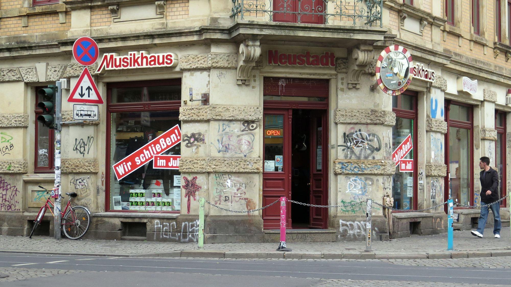 Musikhaus Neustadt schließt im Juli.
