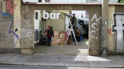 Bar in der Fleischerei