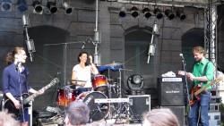 Claudi, Lena, Malle - Goldner Anker