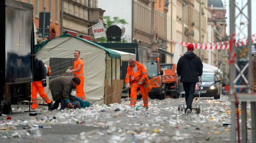 Müll Republik Neustadt - Foto: Frank Dehlis/dehli-news.de