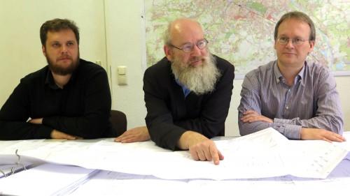 Vincent Drews (SPD), Johannes Lichdi (Grüne), Tilo Wirtz (Linke)
