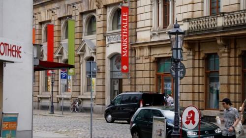 Markthalle an der Hauptstraße