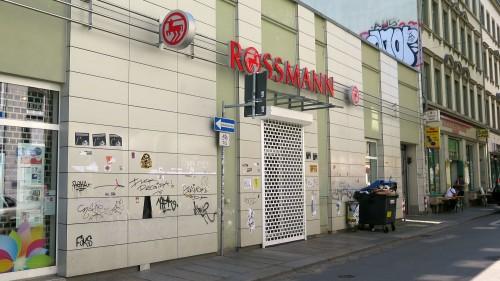 Was wird aus der geschlossenen Rossmann-Filiale auf der Alaunstraße