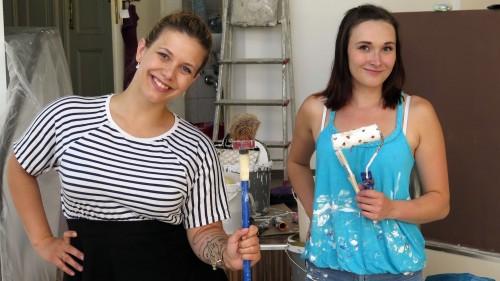 Claudia Hecker (Fotos) und Stephanie Zimmermann (Haare und Schminke)