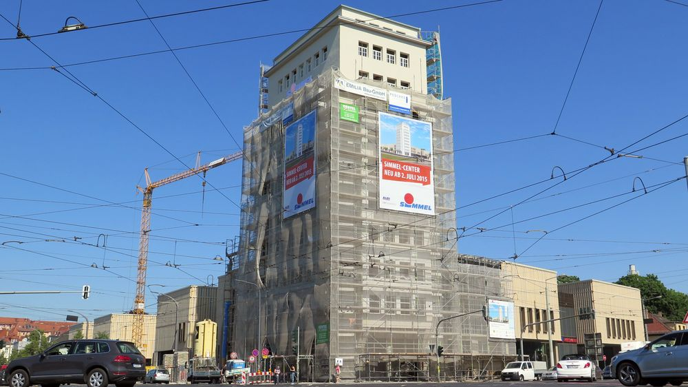 Hochhaus: Sanierungs-Stopp abgewendet