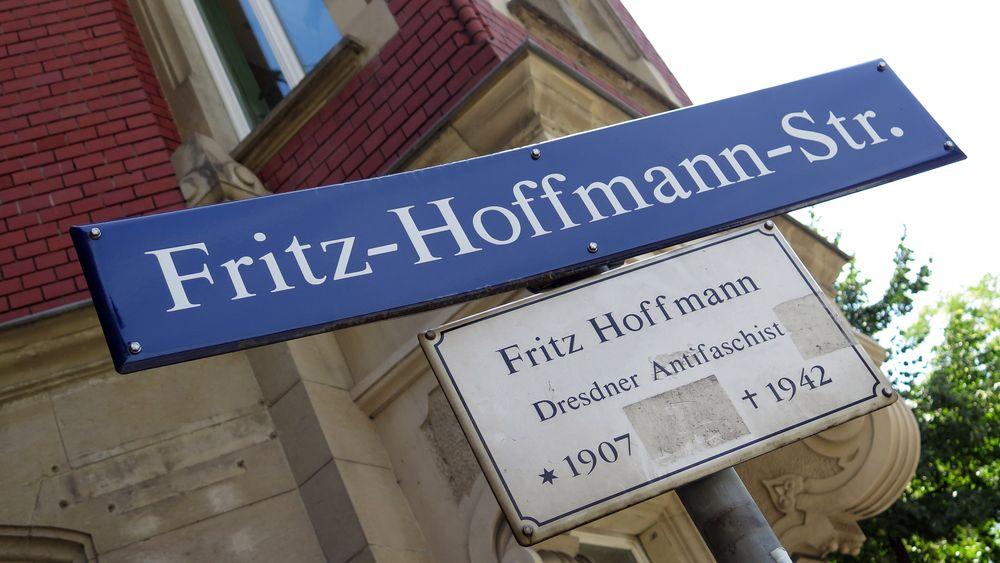 Die Fritz-Hoffmann-Straße