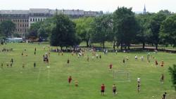 Eindruck vom Alaunpokal im Juni, kurz nach der Aufnahme musste das Turnier abgebrochen werden.