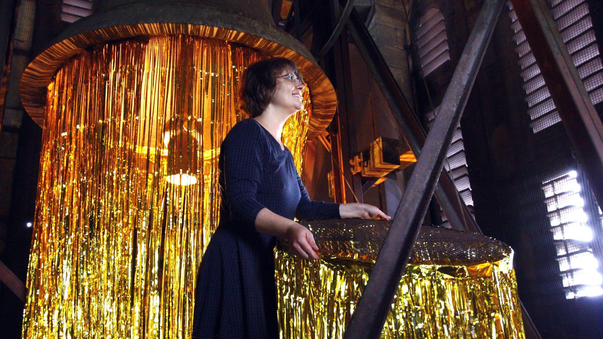 Marí Emily Bohley während der Kunstperformance Ornö 2015 – Foto: Archiv/Youssef Safwan
