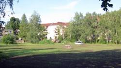 Baubeginn am Russensportplatz