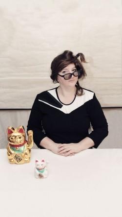 Anna Mateur im Büro für Ordnung und Chaos - Foto: PR/David Campesino