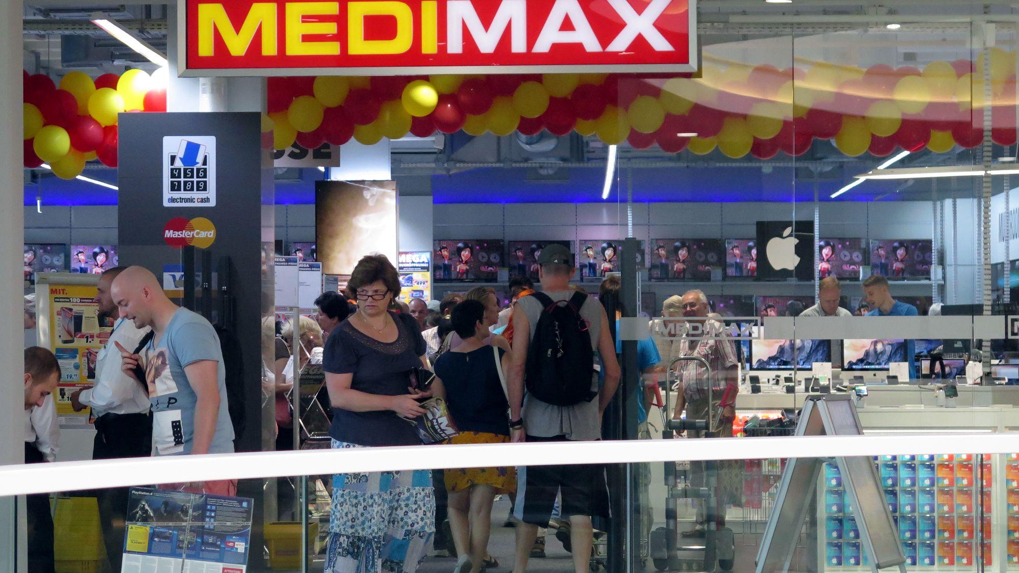 Medimax im Hochhaus eröffnet