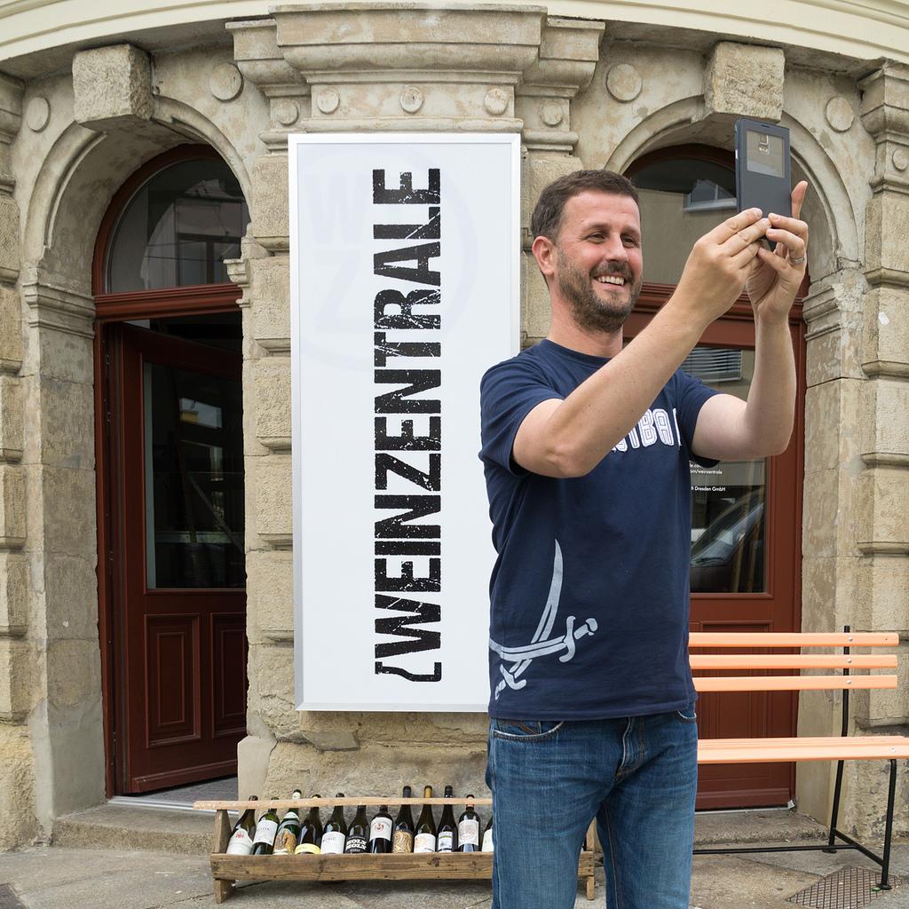 Weinzentralen-Chef Jens Pietzonka