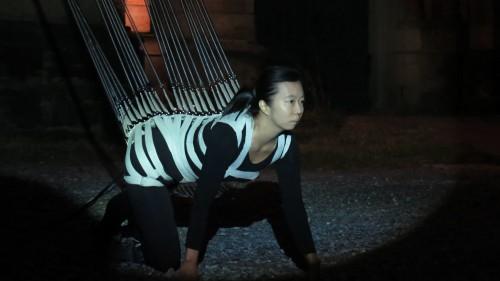 Performance mit Ya Wen Fu