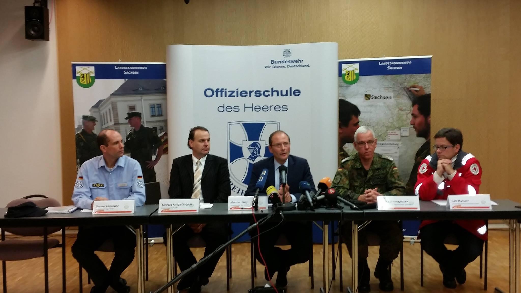 Innenminister Markus Ulbig: Situation war nicht erwartbar