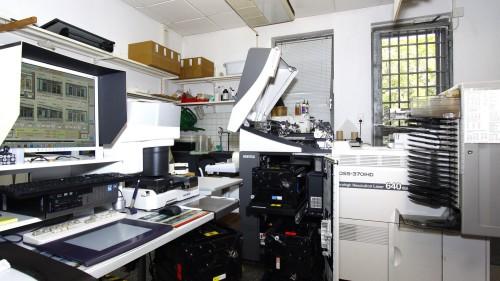 Das Mini-Labor. Foto: Youssef Safwan