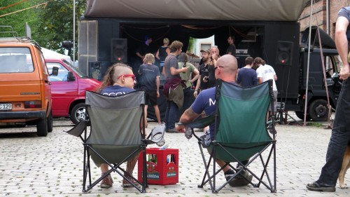 Punkrock im Campingstuhl