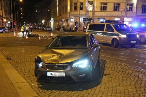 Tödlicher Unfall auf dem Bischofsweg. Foto: Roland Halkasch