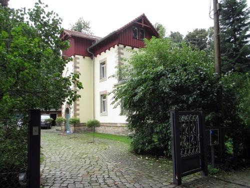 Häuschen an der Brockhausstraße