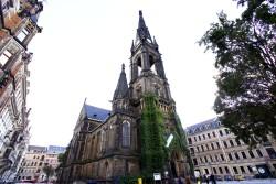 Die Martin-Luther-Kirche wurde zwischen 1883 und 1887 errichtet. Foto: Youssef Safwan