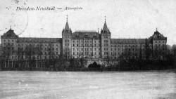 Alaunplatz auf einer Postkarte von 1923