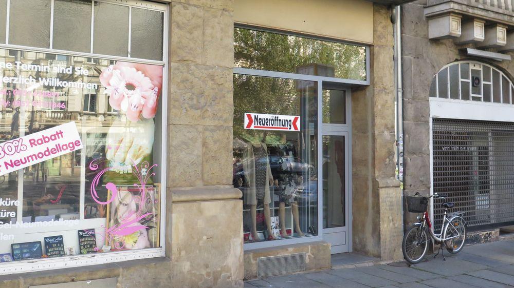 Modelädchen an der Bautzner/Ecke Hoyerswerdaer Straße