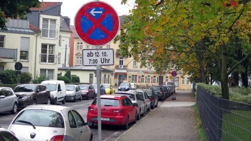 Straße am Alaunplatz wird saniert