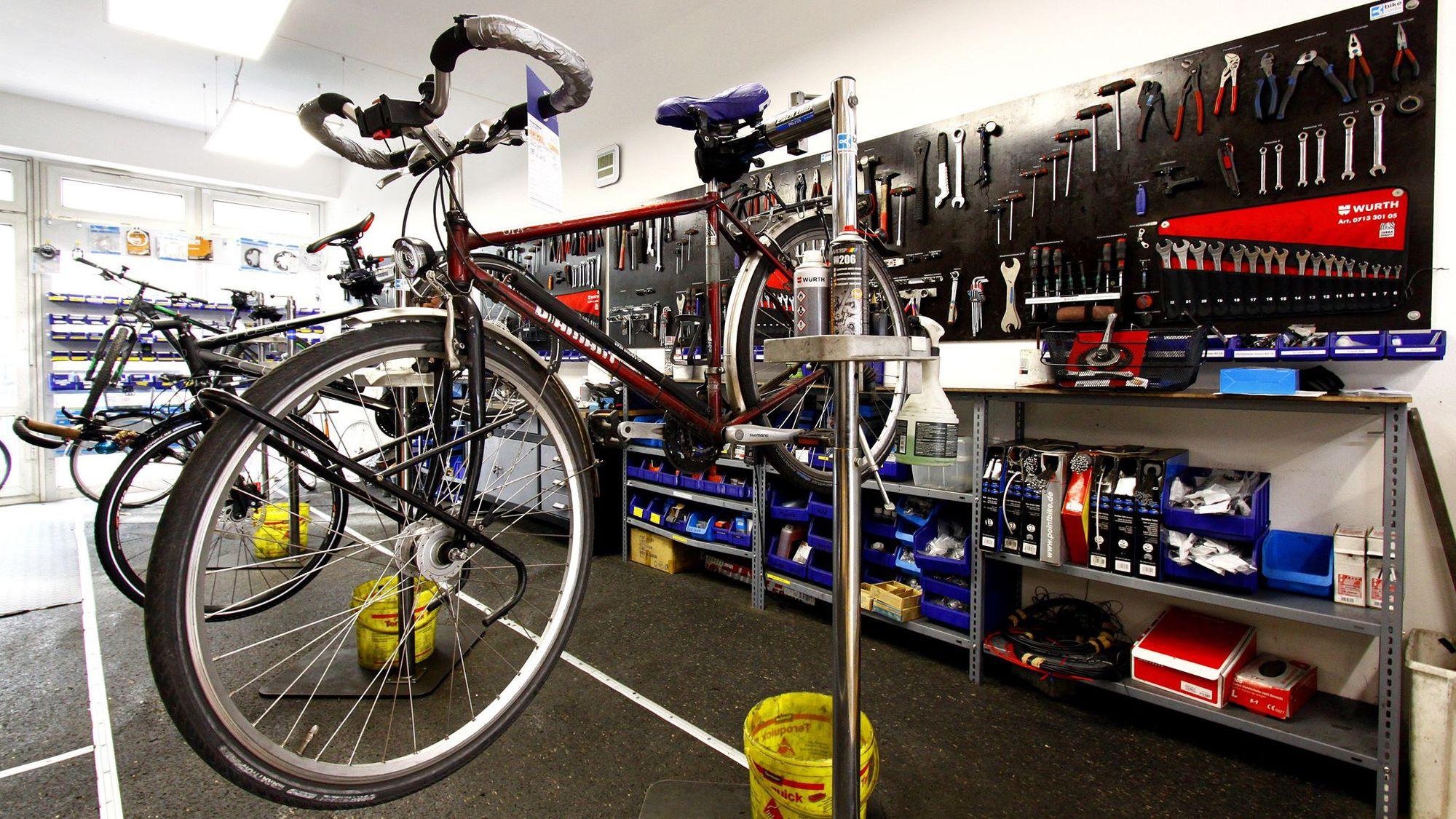 Bike-Center auf der Hoyerswerdaer Straße - Foto: Youssef Safwan