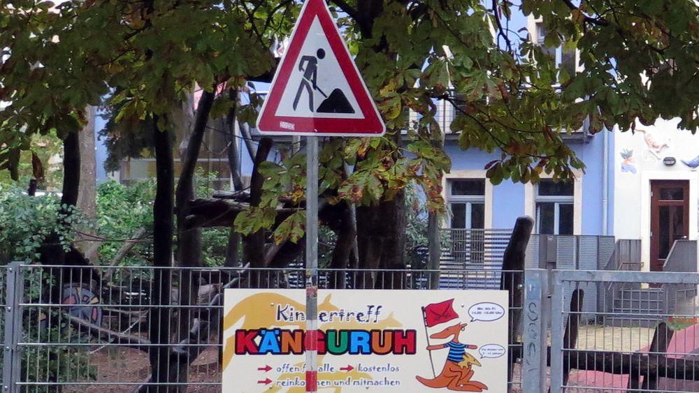 Spielplatz an der Böhmischen Straße wird saniert.
