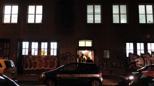 Seit heute ist Leben in der Katharinenstraße 9.