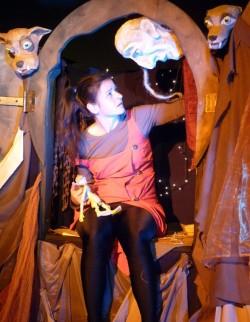 Puppenspielerin Bianka Heuser - Foto: PR