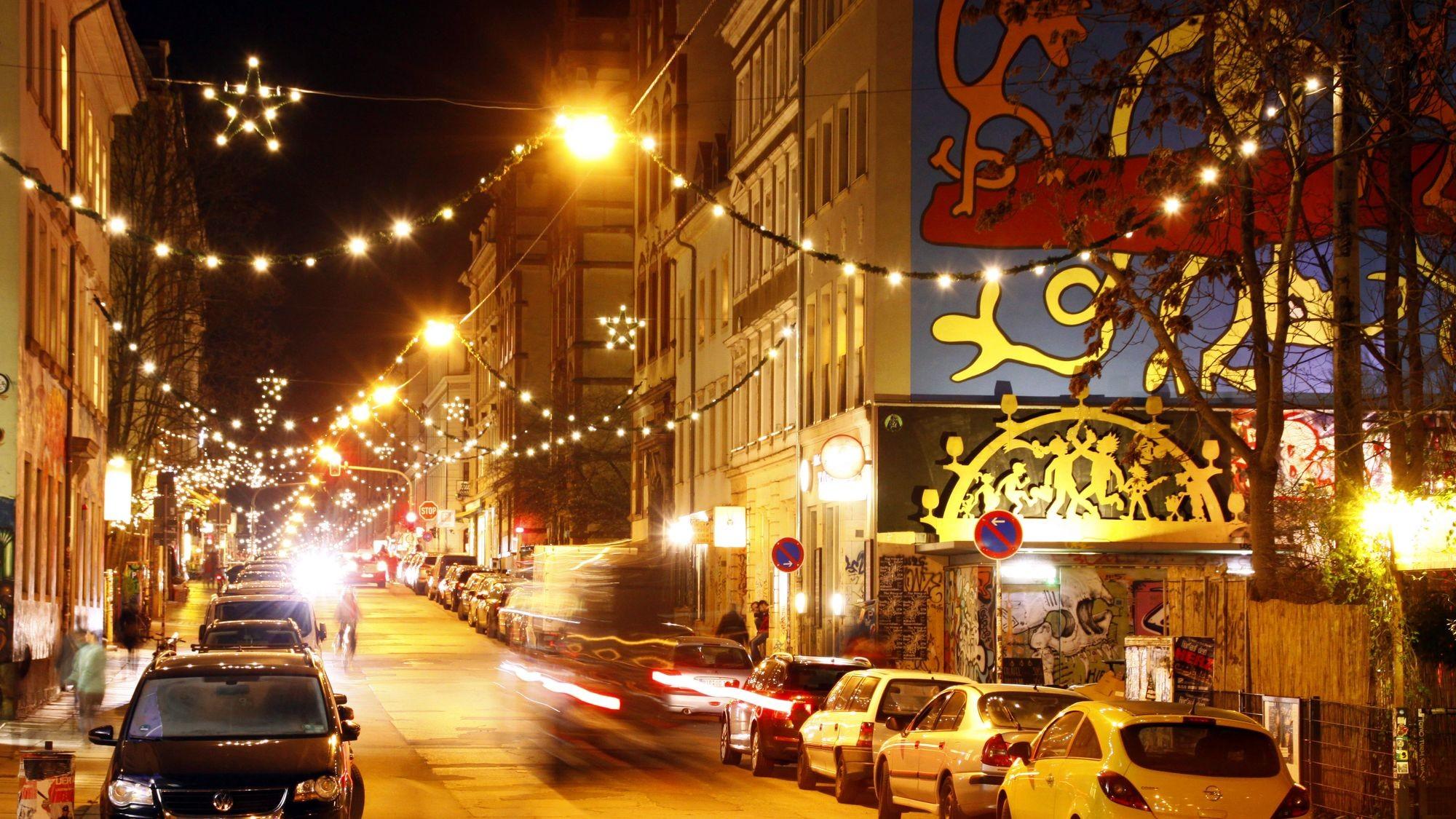 Louisenstraße im Weihnachtsglanz - Foto: Archiv 2015 - Youssef Safwan