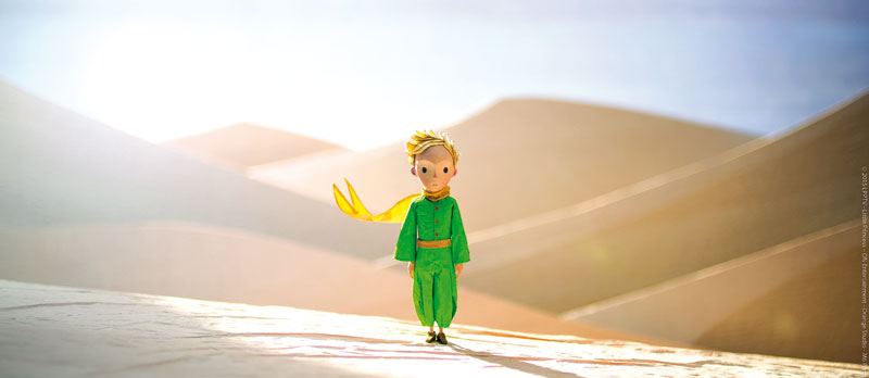 Der kleine Prinz.