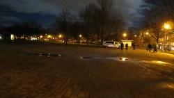 Am Alaunplatz fand keine Demo statt.