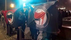 Antifa-Aktion am Neustädter Markt
