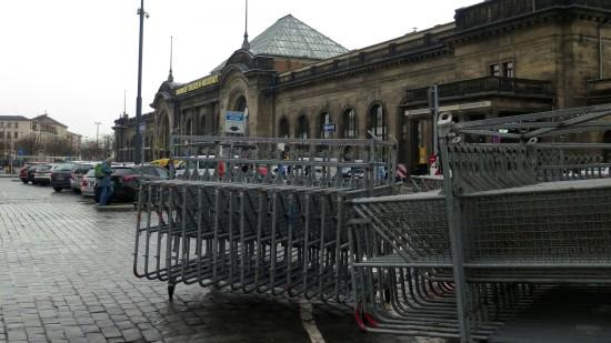 Gitter am Schlesischen Platz