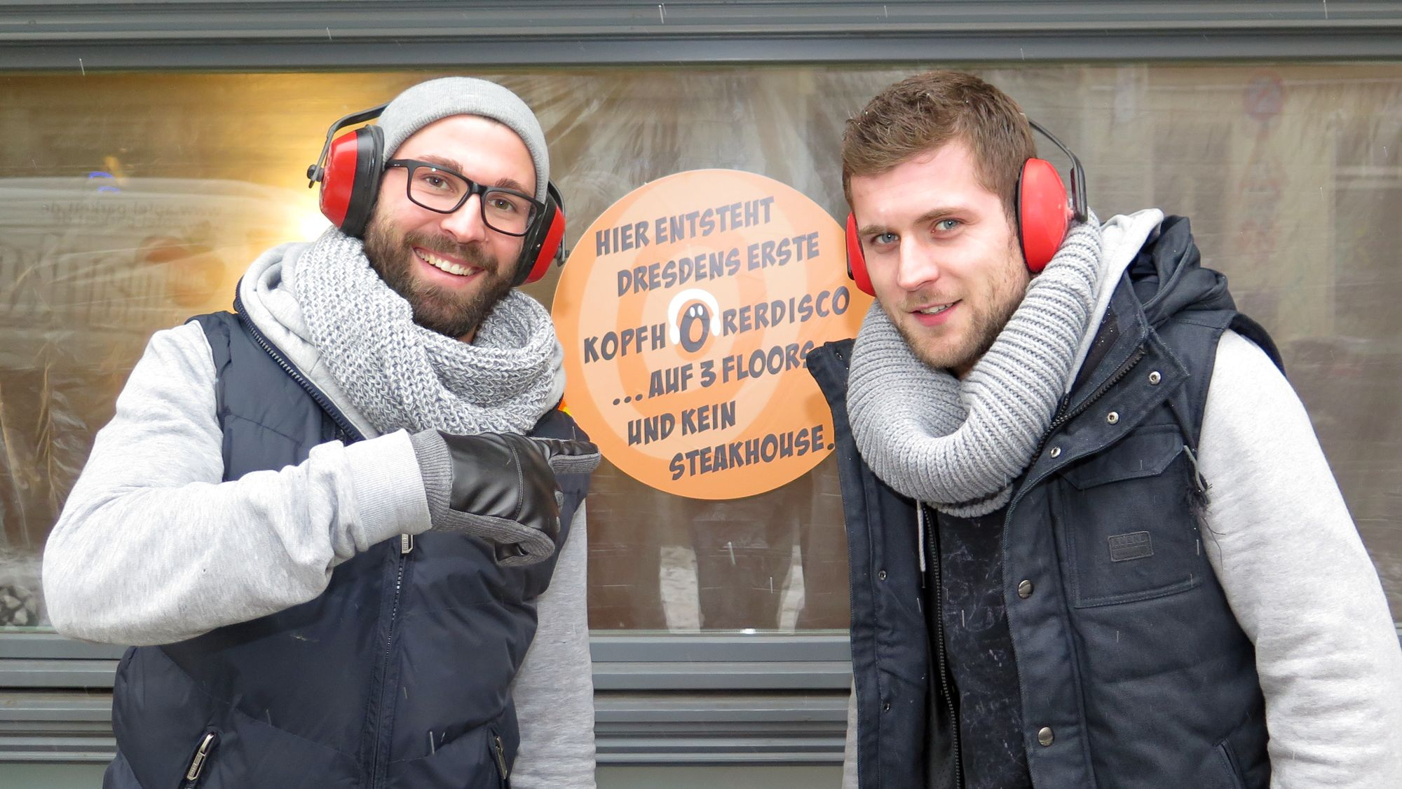 Robert und Constantin Müller