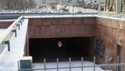 Bleibt gesperrt und wird zugeschüttet - Tunnel am Neustädter Markt