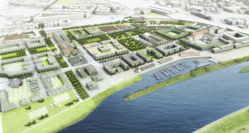 Masterplan Leipziger Vorstadt ohne Globus SB-Markt ist eine Planungsvariante. Quelle: dresden.de