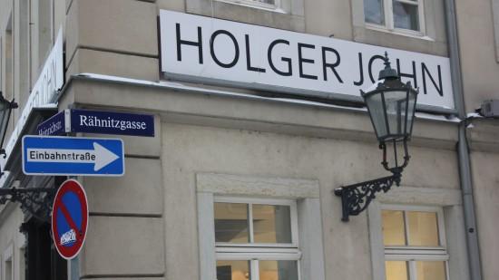 Die Rähnitzgasse ist Heimsitz der Galerie John