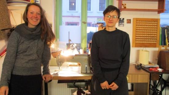 Jcaqueline Teschner und Bettina Kletzsch vom Louisen Kombi Naht