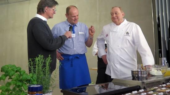 Peter Simmel erläutert seine Vorliebe für natürliche Kost.