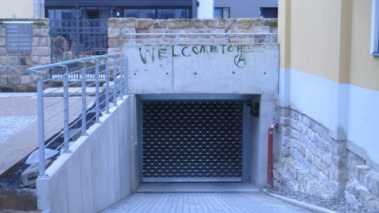 Martin-Luther-Straße: Falls jemand fragt: der Eingang zur Hölle befindet sich auf der Lutherstraße
