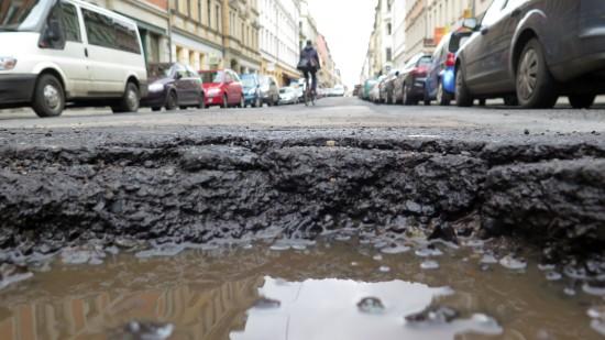 Neustädter Abgrund auf der Louisenstraße