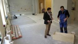 112 Quadratmeter sind die Räume groß.