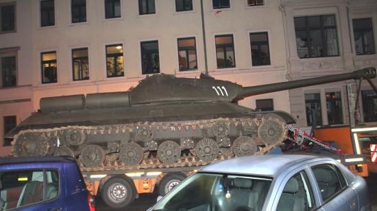 Panzer in der Neustadt